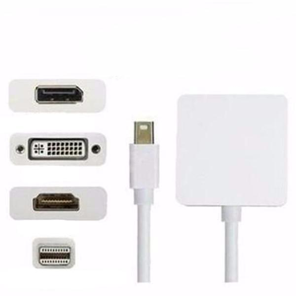 Clearance 3 in 1 Mini Displayport to DP DVI HDMI Cable-Rama Deals