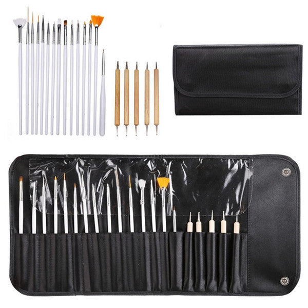 Clearance Professional 20pc Nail Art Set-Rama Deals