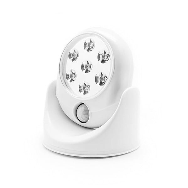 7 LED Wireless Motion Sensor Activated Bright White Light-Rama Deals