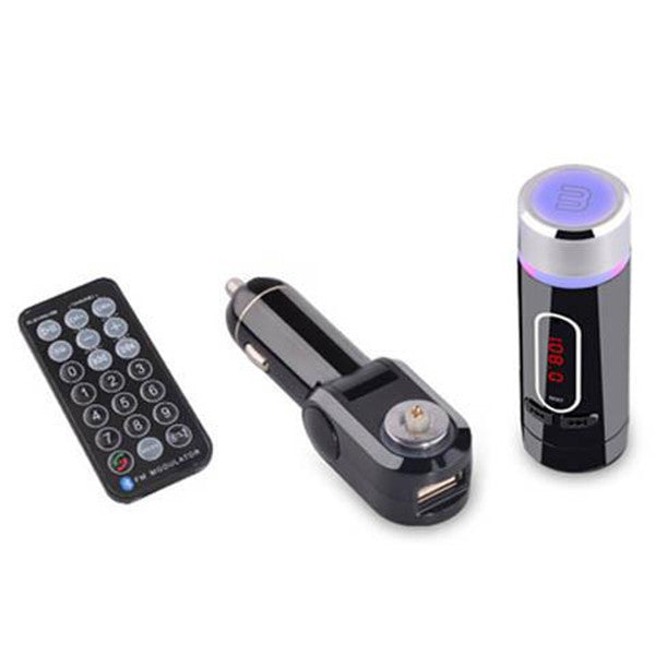 Clearance Bluetooth FM Transmitter With Remote Control-Rama Deals