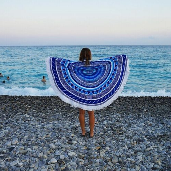 Mandala Round Beach Towel - Rama Deals - 2