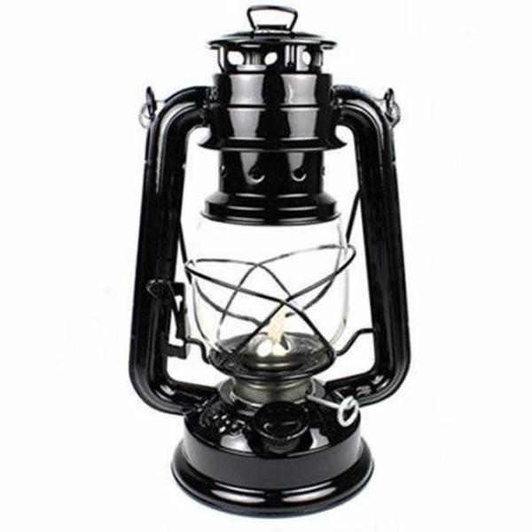 Clearance 25cm Retro Vintage Kerosene Lamp (with luminance controller)-Rama Deals