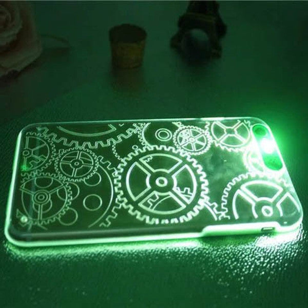 LED Flash Cute Clear Case For IPhone 7 plus 5.5'' - Rama Deals - 6