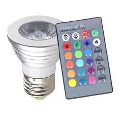 Semicircle Magic Light Color-Changing LED Light Bulbs with Remote Control - Rama Deals - 1