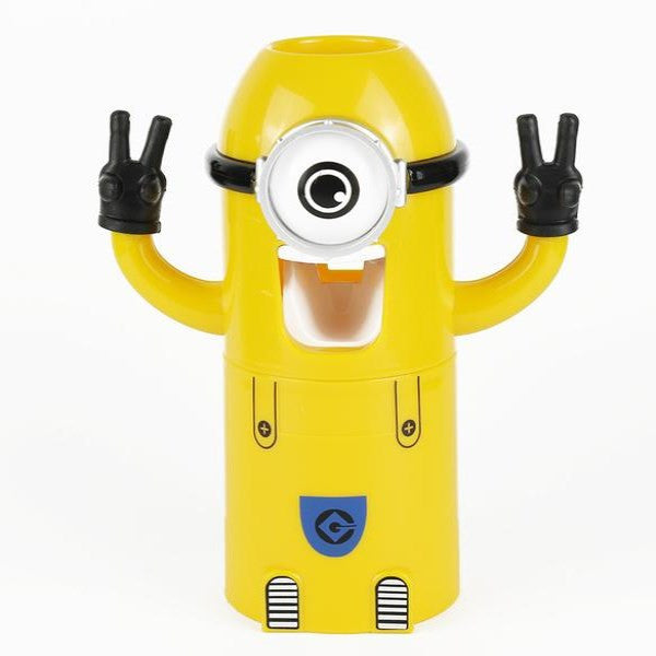 Clearance Yellow Minions Automatic Toothpaste Dispenser-Rama Deals