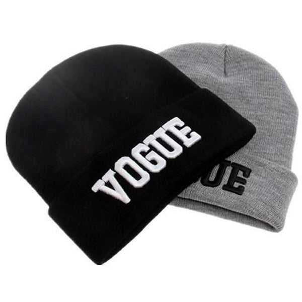 Clearance VOGUE Beanie Knit Hat-Rama Deals