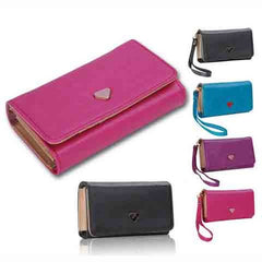 WM PU Leather Wallet Purse Phone Case - Rama Deals - 1