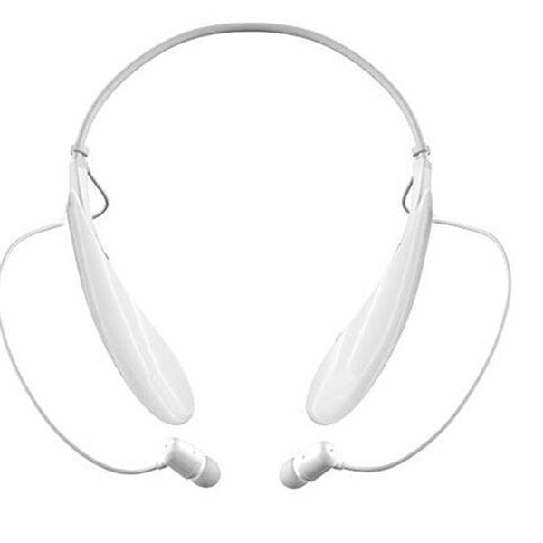 Clearance HBS730 Water Resistant Bluetooth Behind-the-Neck Stereo Headset - black and white color-Rama Deals