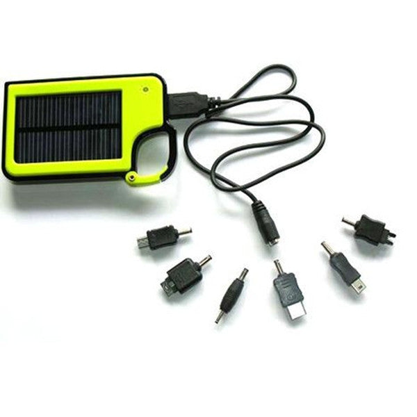 Smartphone Clip-On Solar Charger - Assorted Colors-Rama Deals