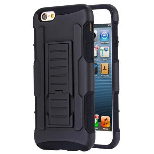 Armor Back Cover with Belt Clip for iPhone 6/ 6 Plus-Rama Deals