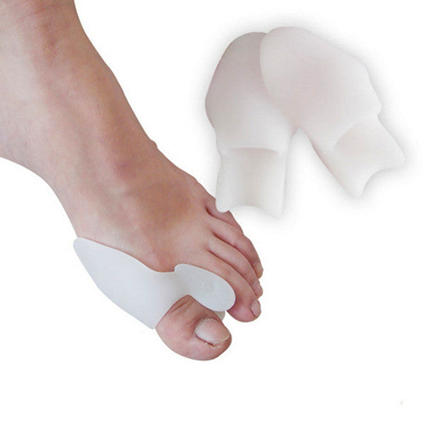 2 Pack: Comfort Healing Toe Separators and Bunion Spacers-Rama Deals