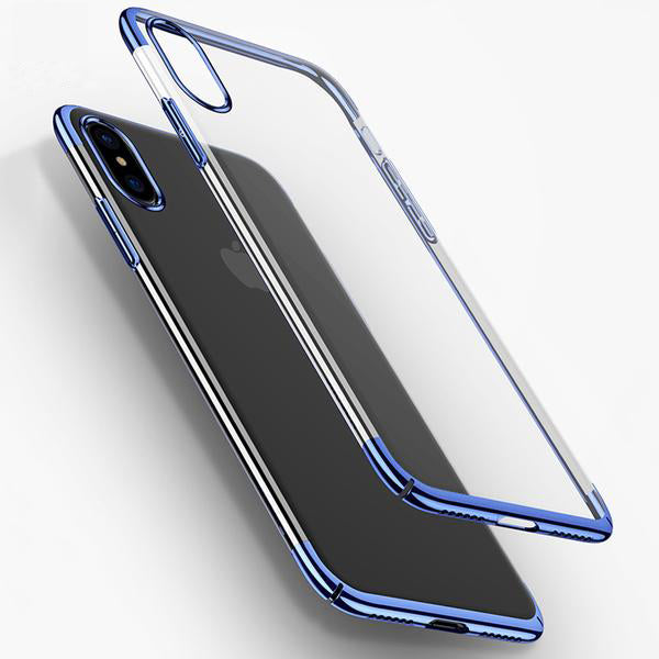 Shining Plating Phone Case for iPhone X-Rama Deals