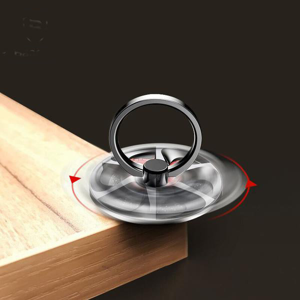 Gyro High Speed Rotation Ring Phone Holder-Rama Deals