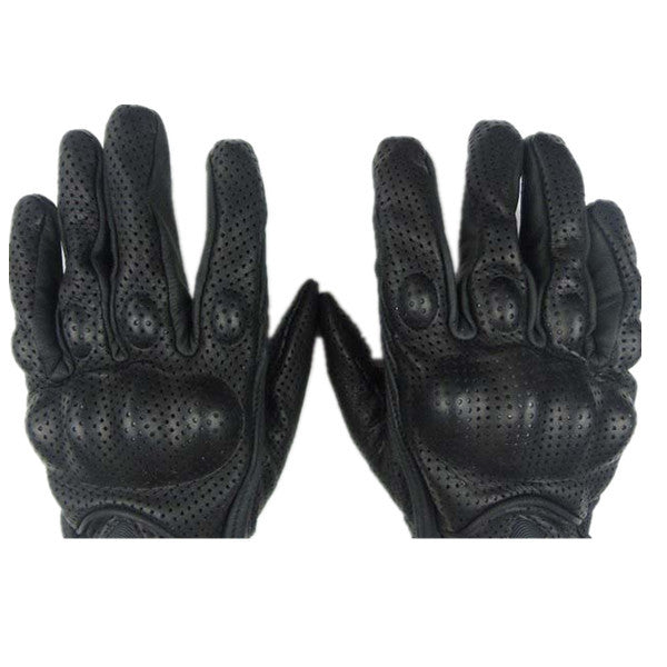Leather Motorcycle Racing Gloves-Rama Deals