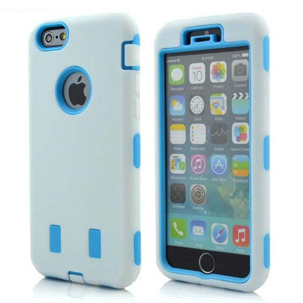 Clearance Shockproof Hybrid Hard Case for iPhone 6 Plus-Rama Deals