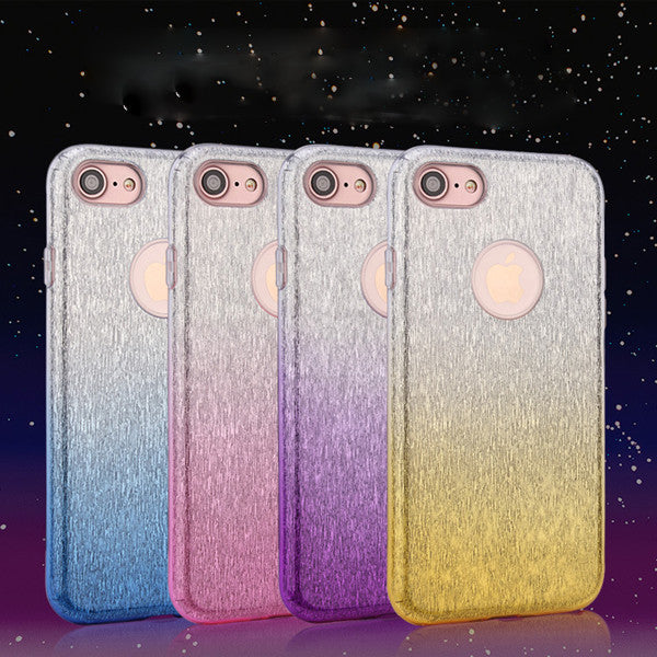 Gradient Flash Three-in-one Phone Case For iPhone 7 7 Plus-Rama Deals