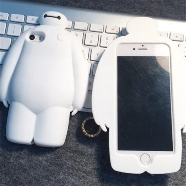 Clearance 3D cartoon Hero soft silicon phone case-Rama Deals