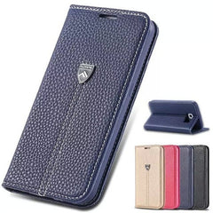Luxury Wallet Leather Case for Samsung S6 - Rama Deals - 1