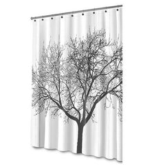 Waterproof Fabric Shower Curtain - Tree Design - Rama Deals - 1