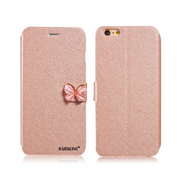 iPhone 7 & 7 Plus Fashionable Silk Butterfly Case - Built-in Wallet & Stand - CELLRIZON  - 3