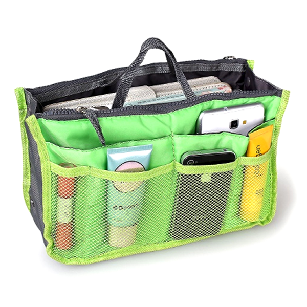 Clearance Slim Bag-in-Bag Purse Organizer - Assorted Color-Rama Deals