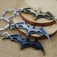 3 Colors Bat Key Chain