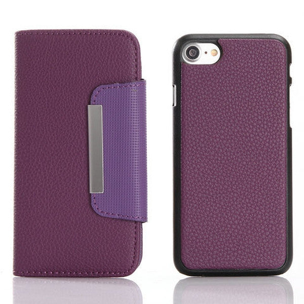 Lichee pattern combo Case For iPhone 7 &7 plus - Rama Deals - 6