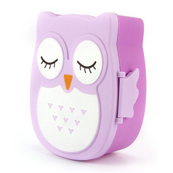 Clearance Children's Cartoon Owl Lunch Box-Rama Deals