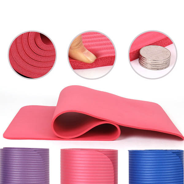 Extra Thick High Density Exercise Yoga Mat-Rama Deals