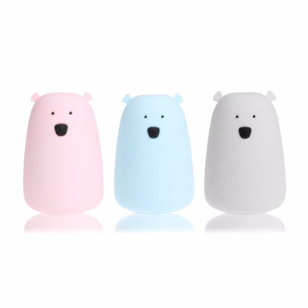 Silicone Big Bear Rechargeable Led Night Light-Rama Deals