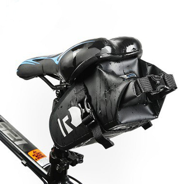 Full Waterproof Bicycle Accessories Rear Tail Saddlebags-Rama Deals