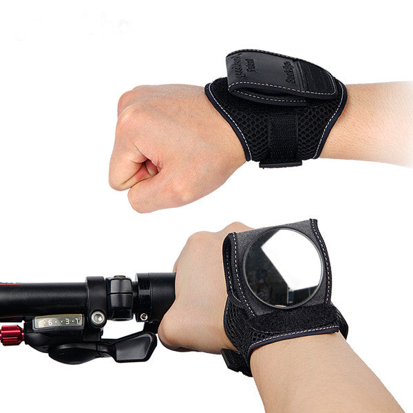 Adjustable Bicycle Wristband Back Rear View Mirror-Rama Deals