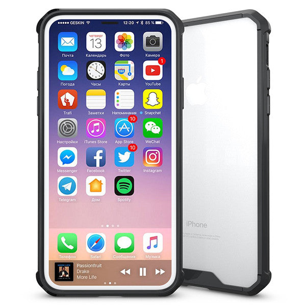 Four Corners Of The Airbag Transparent Anti-drop Phone Shell For iPhone8-Rama Deals