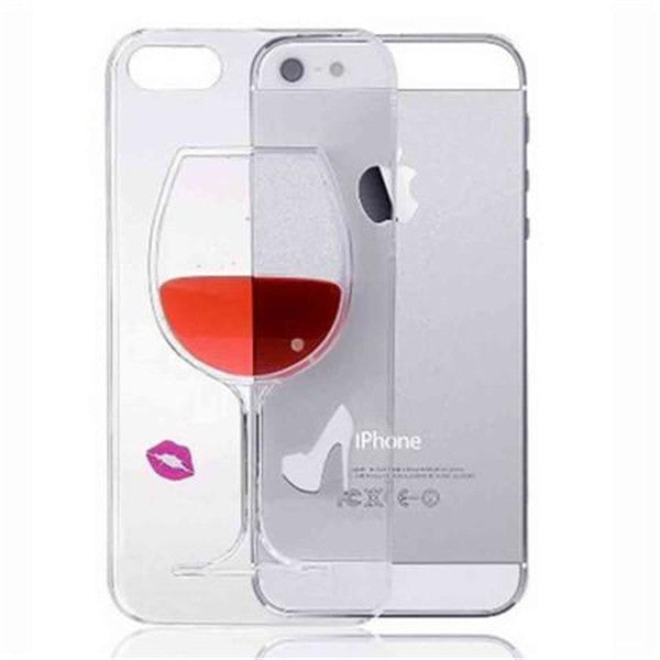 High-heeled Wine Cup Case for iPhone 6 Plus-Rama Deals