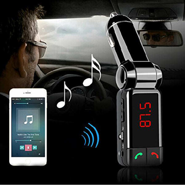 BC06-Bluetooth Car Kit FM Transmitter-Rama Deals