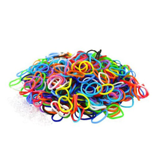600pcs: Colorful Loom Bands-Rama Deals