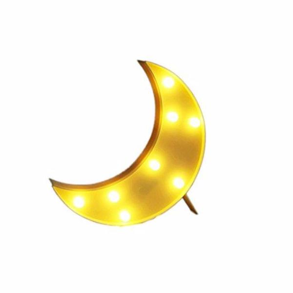 Marquee Moon Sign LED Night Light-Rama Deals