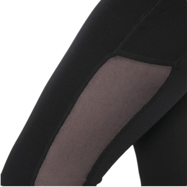 Mesh Yarn Stitching With pocket Fitness Slimming Yoga Pants-Rama Deals