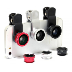 Smartphone Clip-On Lenses - Assorted Colors-Rama Deals