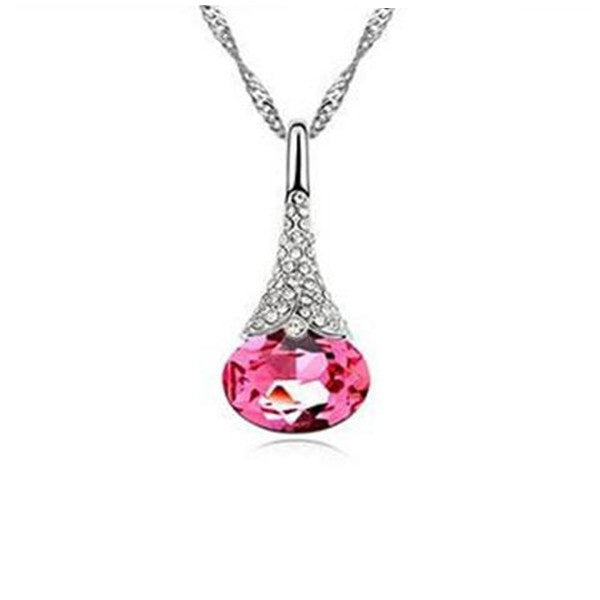 Clearance Crystal Water Drop Pendant-Rama Deals