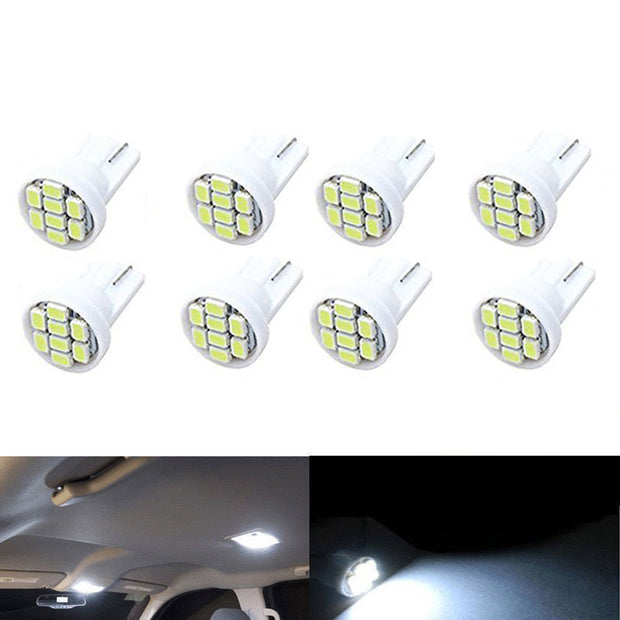 Ultra bright white LED car dome/side light bulb-Rama Deals