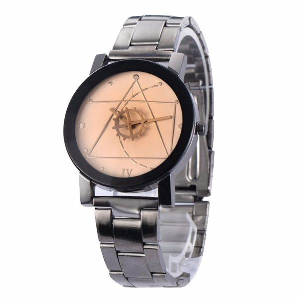 Clearance Men/Women Compass Stainless Steel Quartz Analog Wrist Watch-Rama Deals