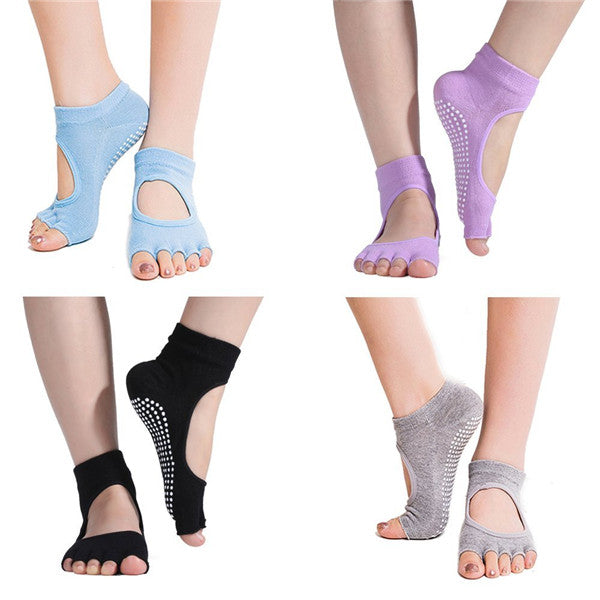 Yoga & Dance Non-Slip Socks-Rama Deals