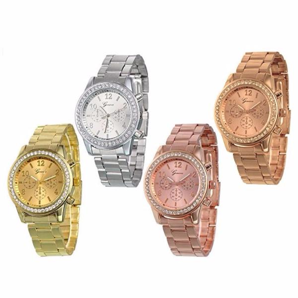 Clearance Quartz Stianless Steel Band Watch-Rama Deals