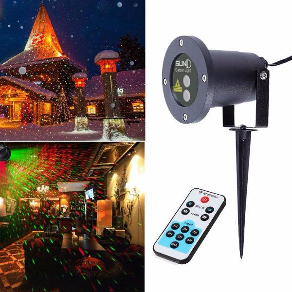 Clearance Dual Color Christmas Light Projector - Waterproof & Remote Control-Rama Deals
