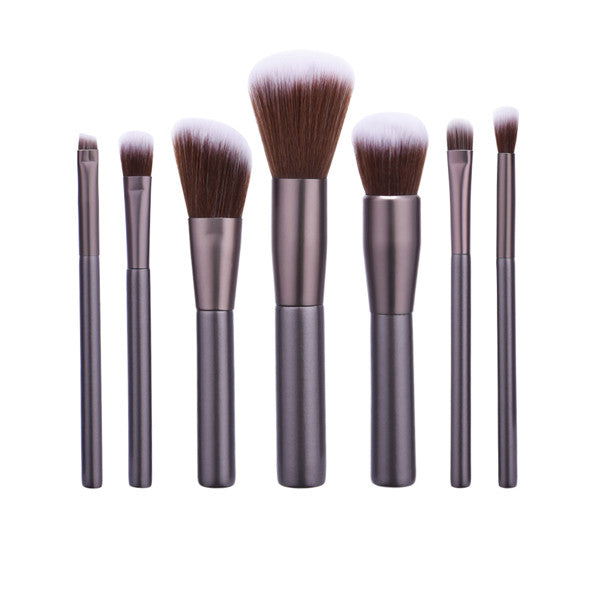7 Pcs/set Gun Color Powder Foundation Makeup  Brush