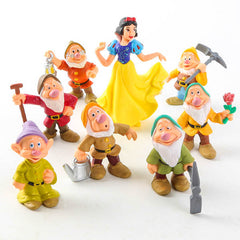 8 Pieces Snow White and Seven Dwarfs Toys-Rama Deals