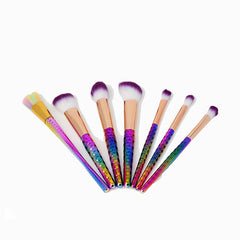6 Honeycomb Colorful Brushes