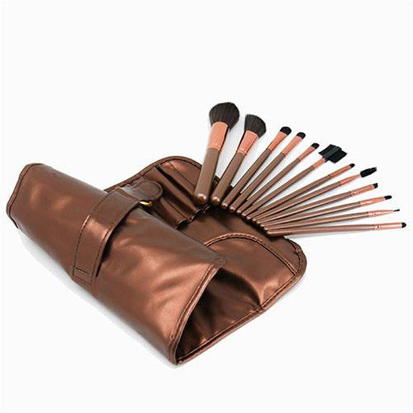 12 Coffee Color Brushset-Rama Deals