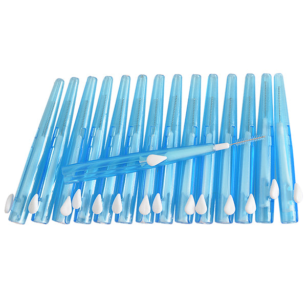 15 Pieces 0.7mm Push-Pull Interdental Brush-Rama Deals
